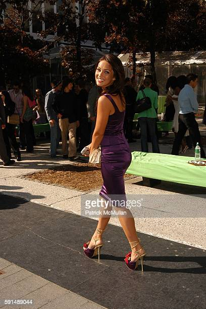 Megan Fox attends ABC 2005 Upfront Announcement Red Carpet Event at Lincoln Center Plaza on May 17 2005 in New York City