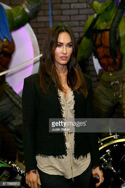 Megan Fox attends day 1 of WonderCon 2016 for Teenage Mutant Ninja Turtles signing at Los Angeles Convention Center on March 25 2016 in Los Angeles...