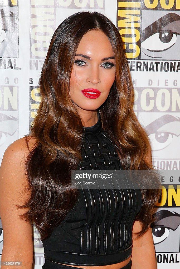 Megan Fox attends the 'Teenage Mutant Ninja Turtles' press line at Comic-Con International 2014 - Day 1 on July 24, 2014 in San Diego, California.