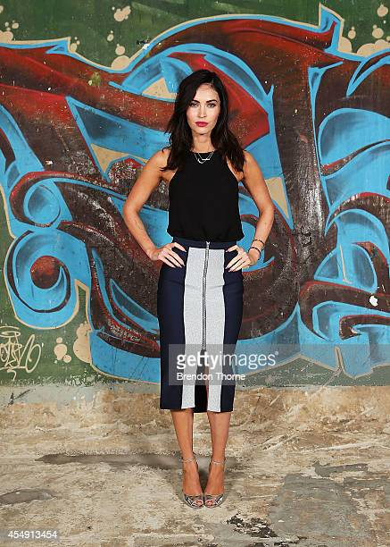 Megan Fox poses during a photo call for the 'Teenage Mutant Ninja Turtles' at Paddington Reservoir on September 8 2014 in Sydney Australia