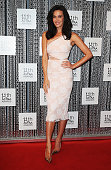 Megan Gale arrives at the 11th Annual ASTRA Awards at Sydney Theatre on July 25 2013 in Sydney Australia