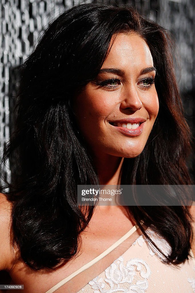 Megan Gale arrives at the 11th Annual ASTRA Awards at the Sydney Theatre on July 25, 2013 in Sydney, Australia.