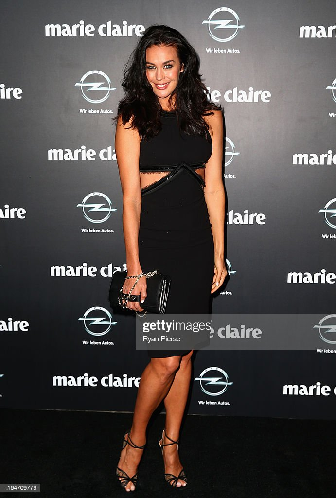 Megan Gale arrives at the 2013 Prix de Marie Claire Awards at the Star on March 27, 2013 in Sydney, Australia.
