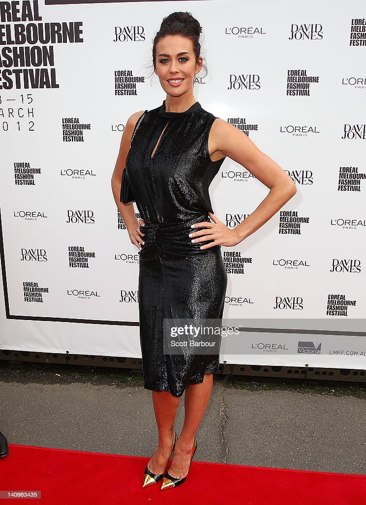 2012 LMFF Launch: David Jones - Arrivals