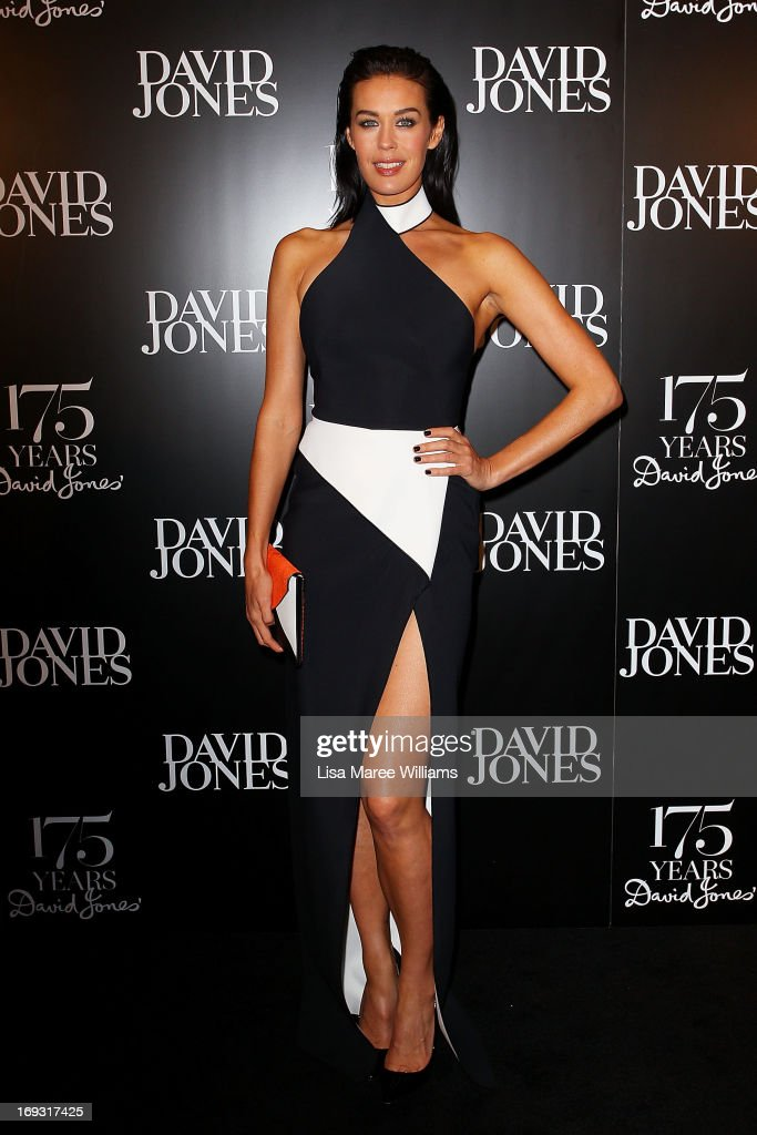 Megan Gale attends the David Jones 175 year celebration at David Jones on May 23, 2013 in Sydney, Australia.