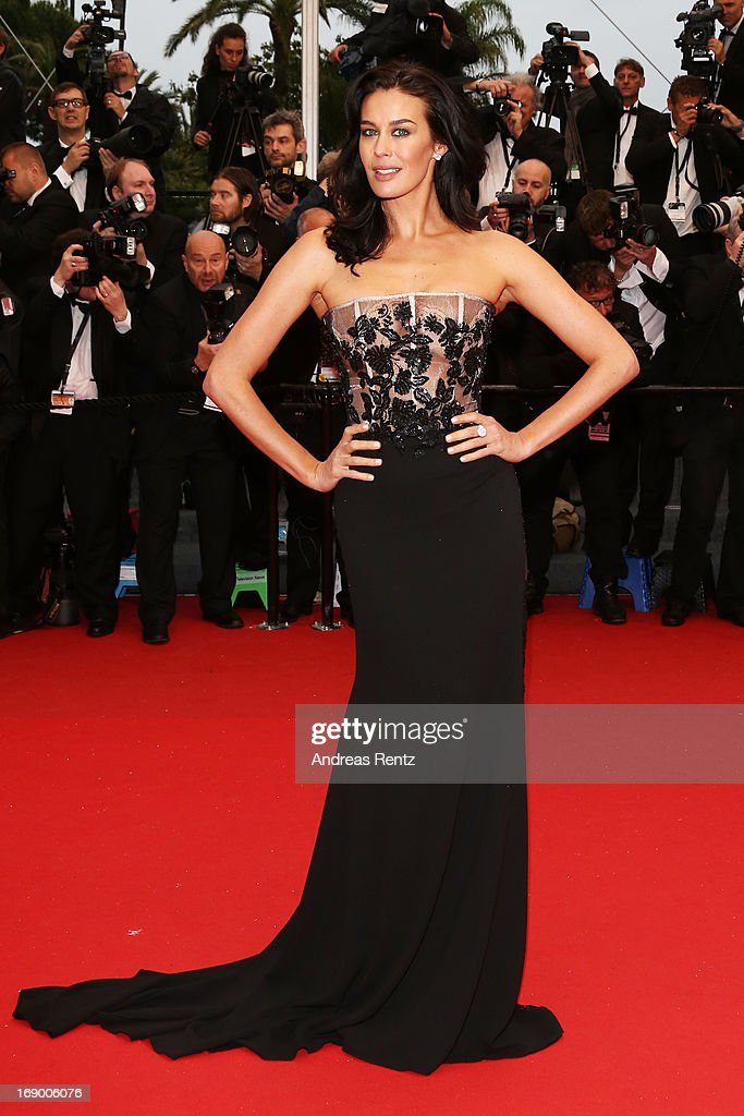 Megan Gale attends the 'Jimmy P. (Psychotherapy Of A Plains Indian)' Premiere during the 66th Annual Cannes Film Festival at the Palais des Festivals on May 18, 2013 in Cannes, France.