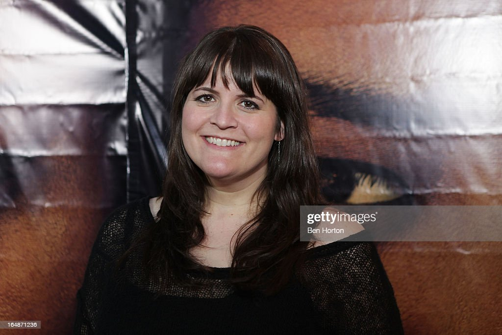 Megan Griffiths attends the premiere of 'Eden' at Laemmle Music Hall on March 28, 2013 in Beverly Hills, California.