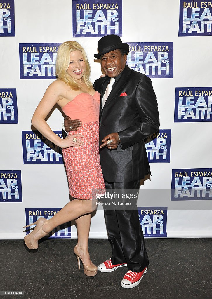 <a gi-track='captionPersonalityLinkClicked' href=/galleries/search?phrase=Megan+Hilty&family=editorial&specificpeople=602492 ng-click='$event.stopPropagation()'>Megan Hilty</a> and <a gi-track='captionPersonalityLinkClicked' href=/galleries/search?phrase=Ben+Vereen&family=editorial&specificpeople=241224 ng-click='$event.stopPropagation()'>Ben Vereen</a> attend the 'Leap Of Faith' Broadway Opening Night at St. James Theatre on April 26, 2012 in New York City.