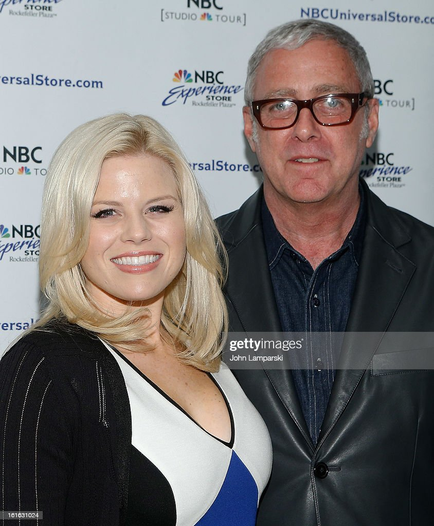 <a gi-track='captionPersonalityLinkClicked' href=/galleries/search?phrase=Megan+Hilty&family=editorial&specificpeople=602492 ng-click='$event.stopPropagation()'>Megan Hilty</a> and <a gi-track='captionPersonalityLinkClicked' href=/galleries/search?phrase=Scott+Wittman&family=editorial&specificpeople=726337 ng-click='$event.stopPropagation()'>Scott Wittman</a> attends the 'Bombshell' The Complete 'Smash' Cast Recording Meet & Greet at NBC Experience Store on February 13, 2013 in New York City.