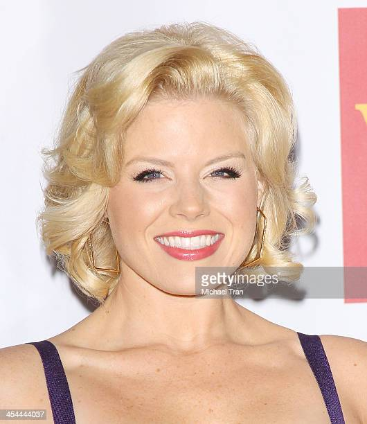 Megan Hilty arrives at the 15th Annual Trevor Project Benefit held at Hollywood Palladium on December 8 2013 in Hollywood California