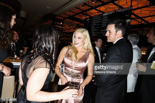 Megan Hilty at the official Tony Awards afterparty at the Plaza Hotel in New York NY on June 12 2016