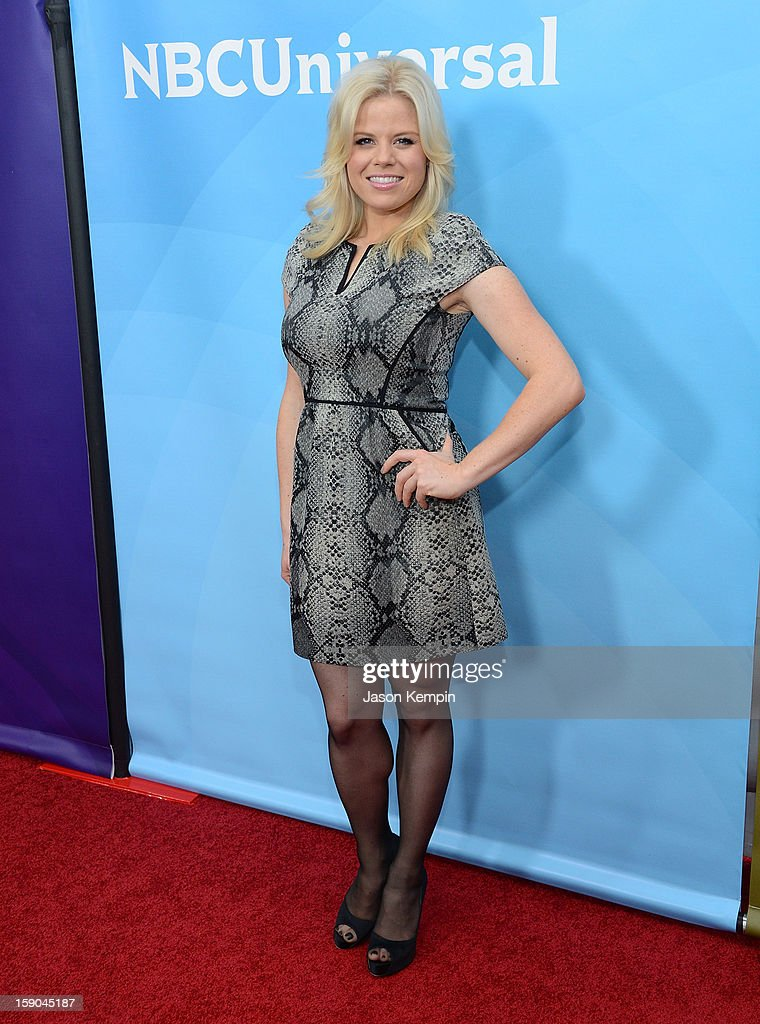 Megan Hilty attends NBCUniversal's '2013 Winter TCA Tour' Day 1 at Langham Hotel on January 6, 2013 in Pasadena, California.