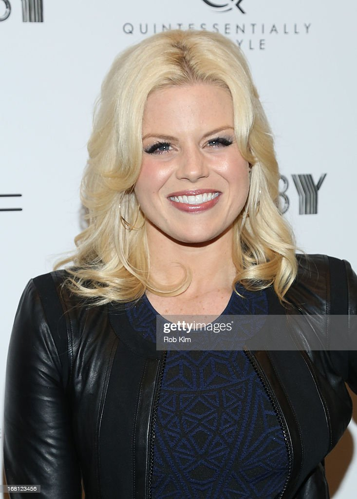 Megan Hilty attends Pre-Met Ball Special Screening Of 'The Great Gatsby' at MOMA on May 5, 2013 in New York City.