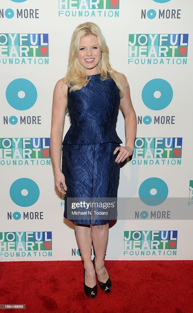 <a gi-track='captionPersonalityLinkClicked' href=/galleries/search?phrase=Megan+Hilty&family=editorial&specificpeople=602492 ng-click='$event.stopPropagation()'>Megan Hilty</a> attends the 2013 Joyful Heart Foundation gala at Cipriani 42nd Street on May 9, 2013 in New York City.