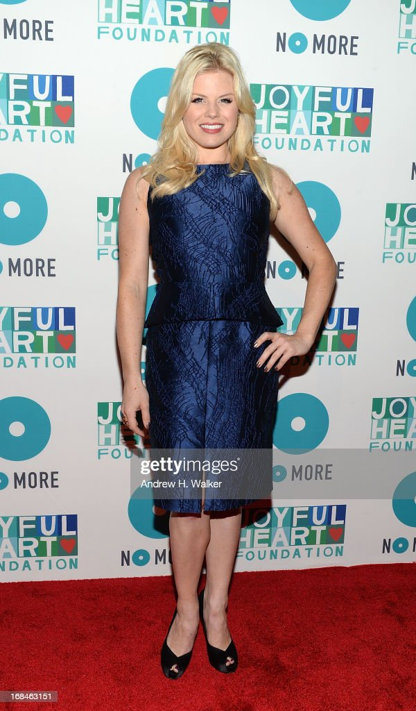 Megan Hilty attends the 2013 Joyful Heart Foundation Gala at Cipriani 42nd Street on May 9, 2013 in New York City.