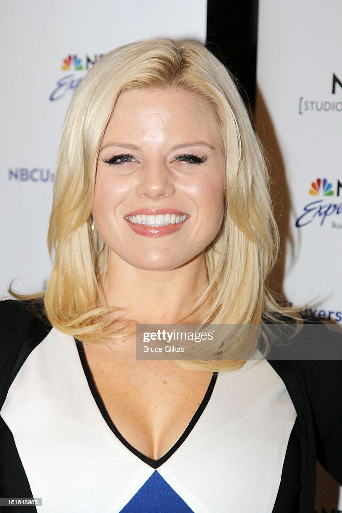 <a gi-track='captionPersonalityLinkClicked' href=/galleries/search?phrase=Megan+Hilty&family=editorial&specificpeople=602492 ng-click='$event.stopPropagation()'>Megan Hilty</a> attends The 'Bombshell: The New Marilyn Musical from Smash Cast Recording' CD signing at NBC Experience Store on February 13, 2013 in New York City.