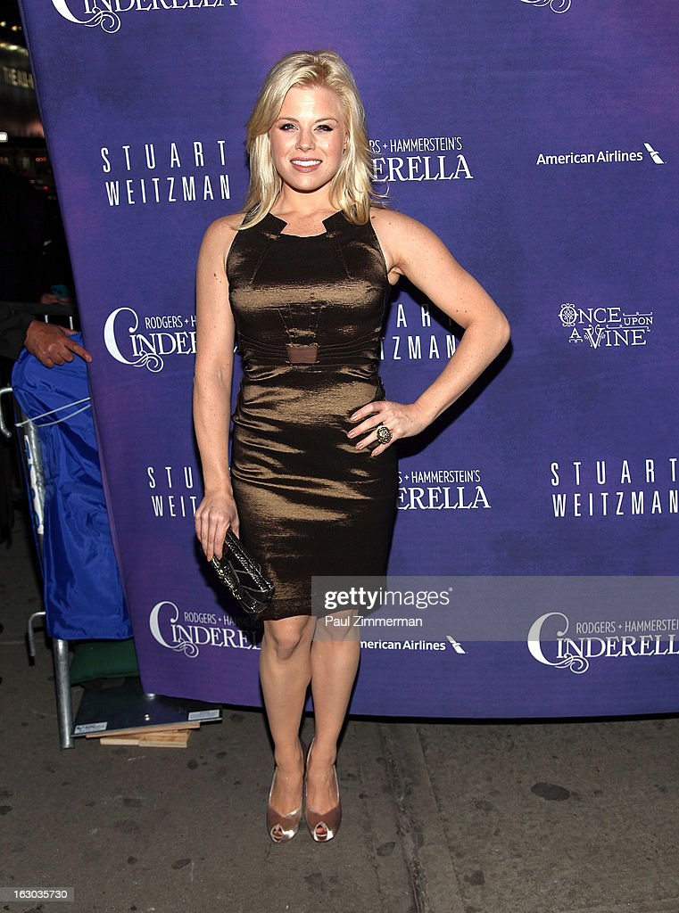 Megan Hilty attends the 'Cinderella' Broadway Opening Night at Broadway Theatre on March 3, 2013 in New York City.