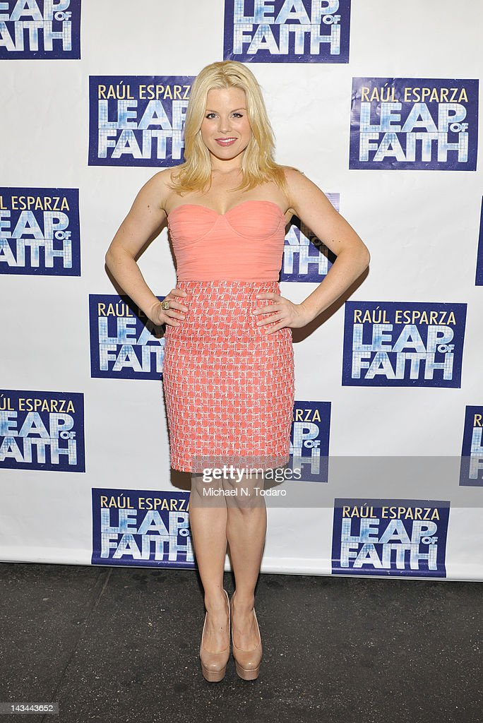 Megan Hilty attends the 'Leap Of Faith' Broadway Opening Night at St. James Theatre on April 26, 2012 in New York City.