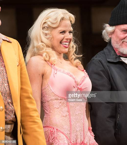 Megan Hilty performs onstage during 'Noises Off' Broadway opening night at American Airlines Theatre on January 14 2016 in New York City