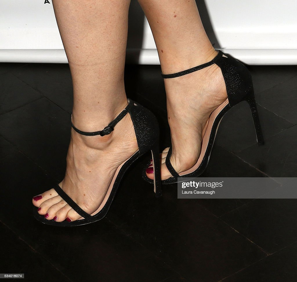 Megan Hilty, shoe detail, attends A Toast to The 2016 Tony Awards Creative Arts Nominees on May 24, 2016 in New York City.