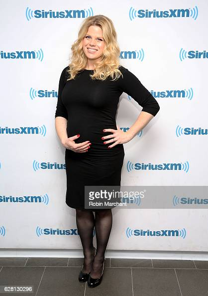Megan Hilty visits at SiriusXM Studio on December 6 2016 in New York City