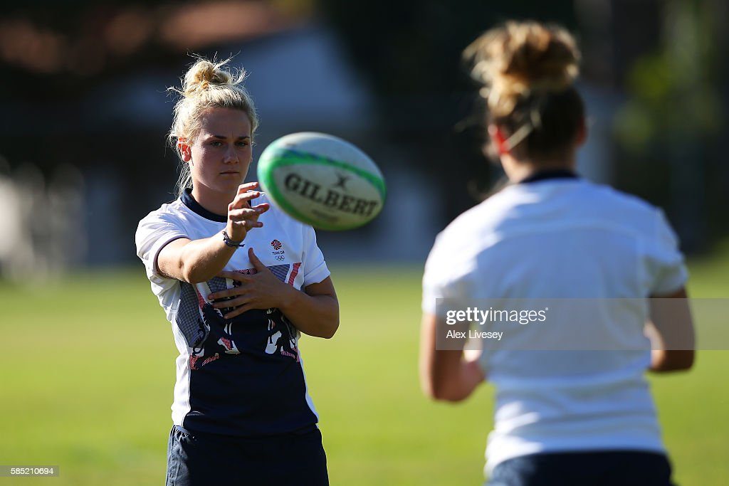 Team GB - Rugby 7's Training