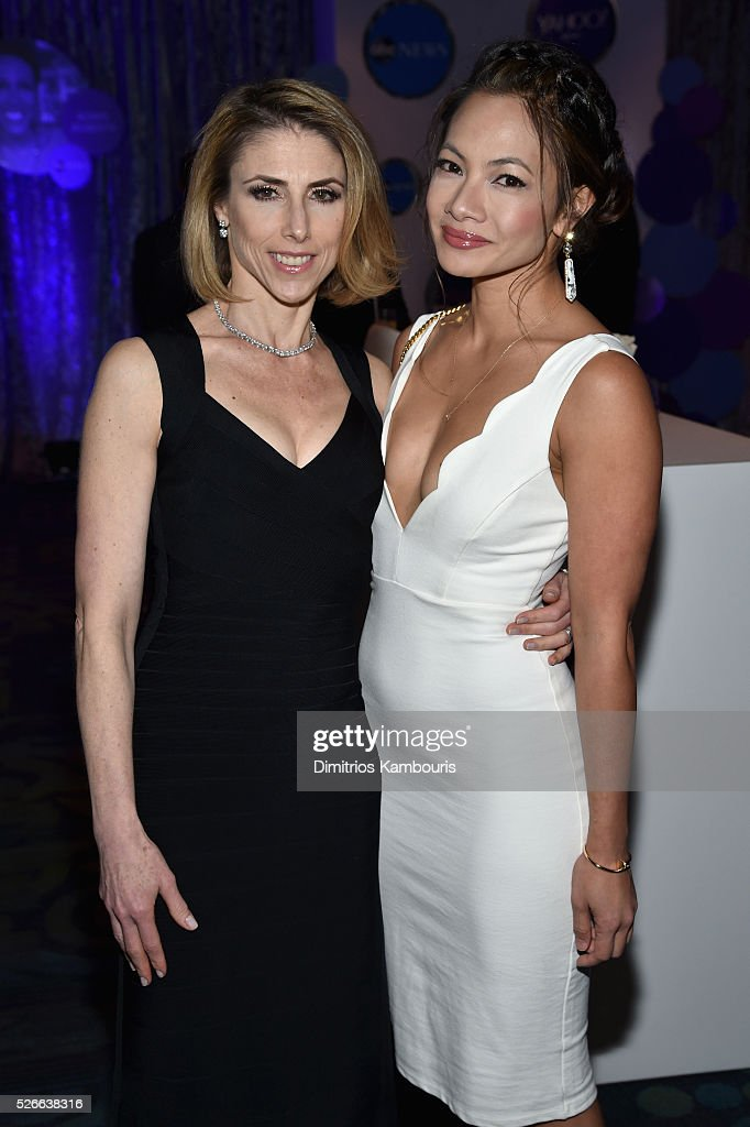 Megan Liberman (L) and Anne Espiritu attend the Yahoo News/ABC News White House Correspondents' Dinner Pre-Party at Washington Hilton on April 30, 2016 in Washington, DC.