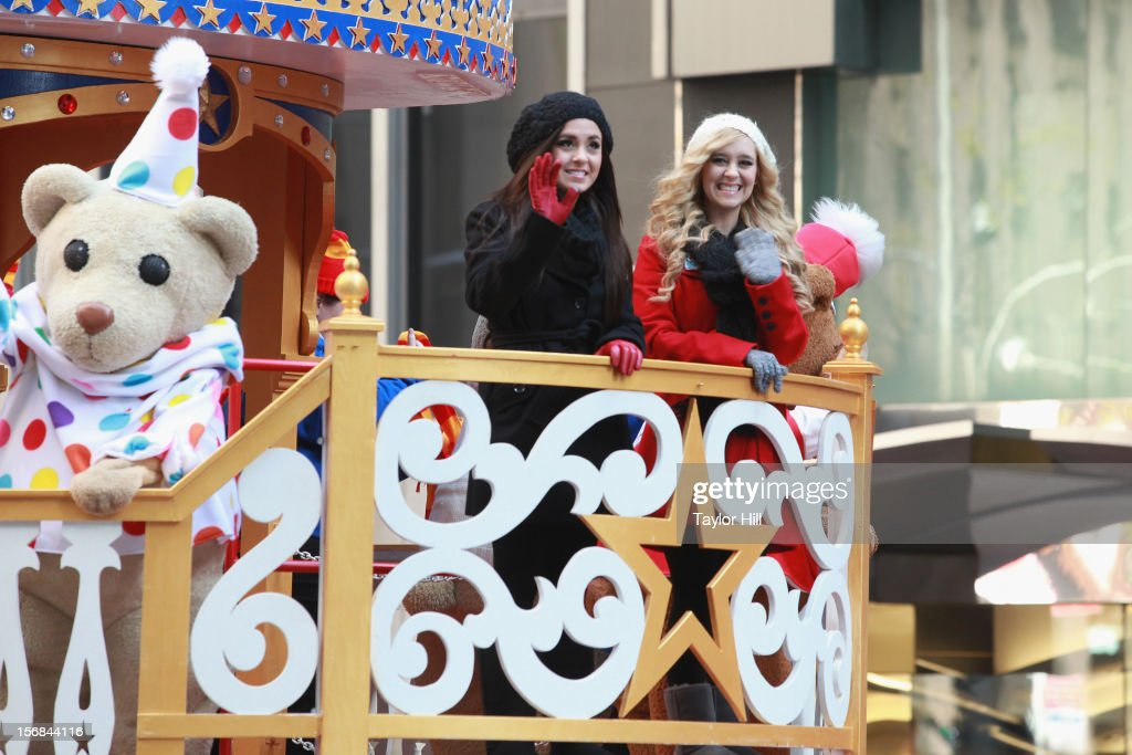 Megan & Liz attend the 86th Annual Macy's Thanksgiving Day Parade on November 22, 2012 in New York City.