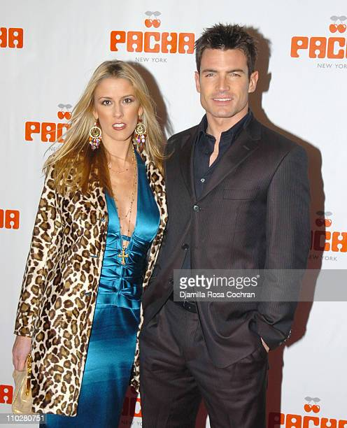 Megan Marshall and Aiden Turner during Opening of Pacha December 7 2005 at Pasha in New York City New York United States
