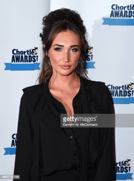 Megan Mckenna attends the Chortle Comedy Awards 2017 on March 20 2017 in London United Kingdom