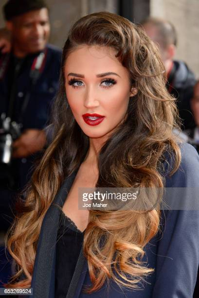 Megan McKenna attends the TRIC Awards 2017 on March 14 2017 in London United Kingdom