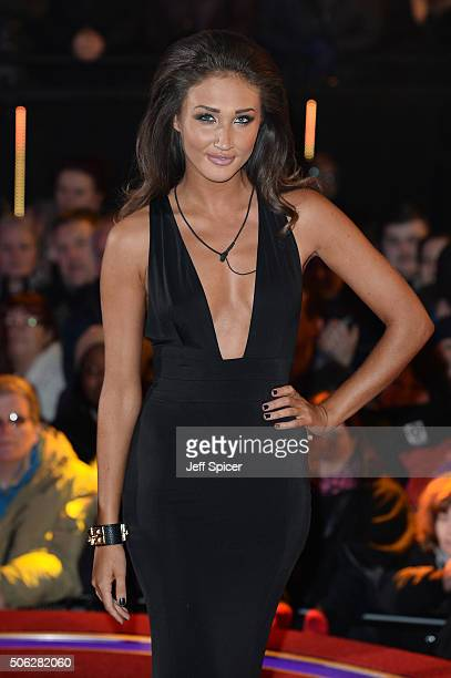 Megan McKenna is the fourth celebrity evicted from the Big Brother house at Elstree Studios on January 22 2016 in Borehamwood England