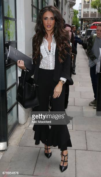 Megan McKenna seen arriving at BUILD Series LDN at the AOL building on May 2 2017 in London England