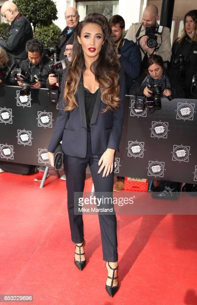 Megan McKennaattends the TRIC Awards 2017 on March 14 2017 in London United Kingdom