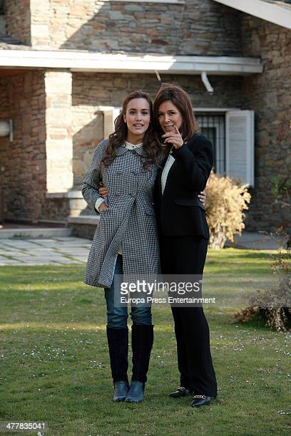 Megan Montaner and Lydia Bosch attend the presentation of 'Sin Identidad' Antena 3 Tv serie on March 11 2014 in Madrid Spain