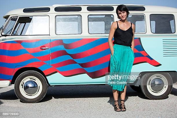 Megan Montaner attends 'Senor Dame Paciencia' photocall on September 6 2016 in Campo Real Spain