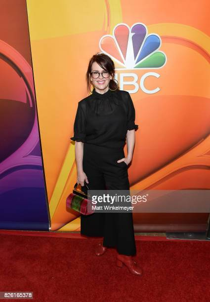 Megan Mullally at the NBCUniversal Summer TCA Press Tour at The Beverly Hilton Hotel on August 3 2017 in Beverly Hills California