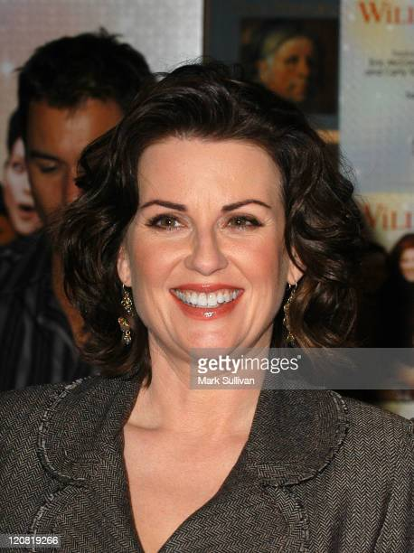 Megan Mullally during Cast of 'Will Grace' Sign Their New CD 'Let The Music Out' at Virgin MegaStore in West Hollywood California United States