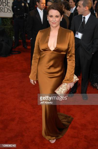 Megan Mullally during The 60th Annual Golden Globe Awards Arrivals at Beverly Hilton Hotel in Beverly Hills CA United States