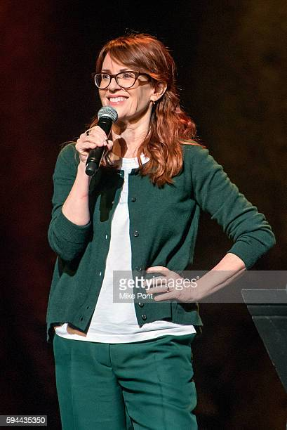 Megan Mullally performs during the 'Summer Of 69 No Apostrophe' tour at Beacon Theatre on August 23 2016 in New York City