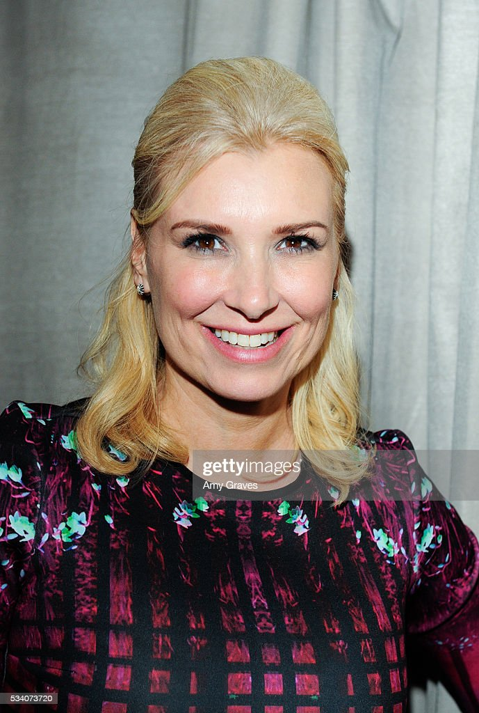 Megan O'Brien attends the St. Vincent Meals on Wheels Beauty Event. Beauty Inside and Out on May 24, 2016 in Los Angeles California.