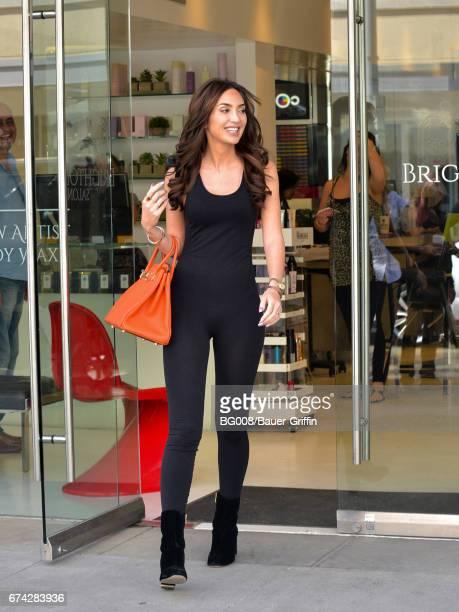 Megan Pormer is seen on April 27 2017 in Los Angeles California