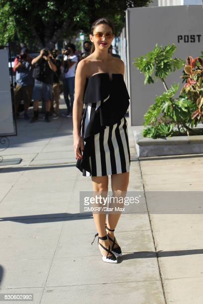 Megan Pormer is seen on August 11 2017 in Los Angeles California