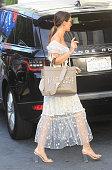 Celebrity Sightings In Los Angeles - July 22, 2021