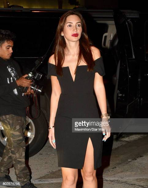 Megan Pormer is seen on June 27 2017 in Los Angeles CA