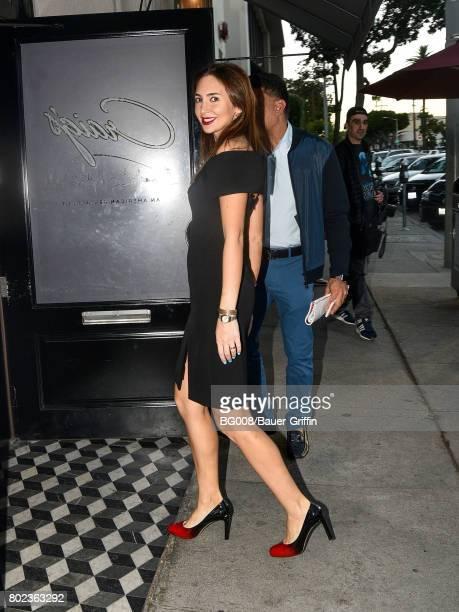 Megan Pormer is seen on June 27 2017 in Los Angeles California