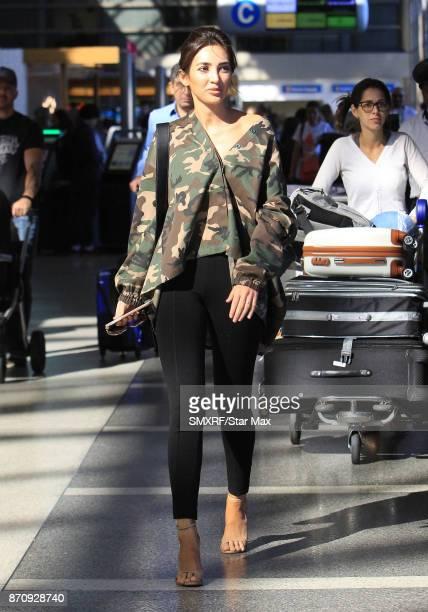 Megan Pormer is seen on November 5 2017 in Los Angeles CA
