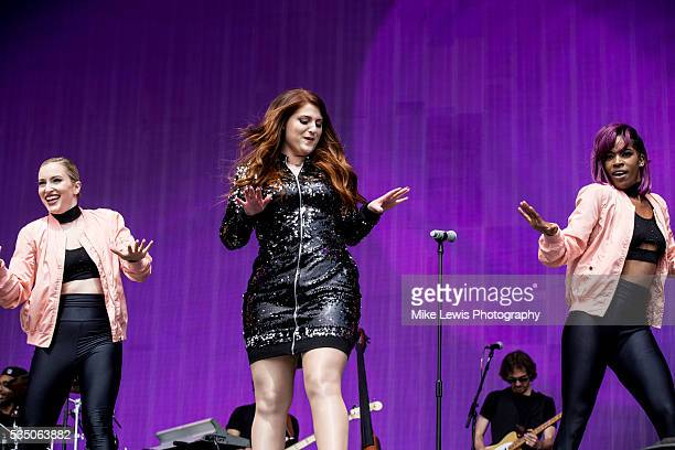 Megan Trainor performs at Powderham Castle on May 28 2016 in Exeter England