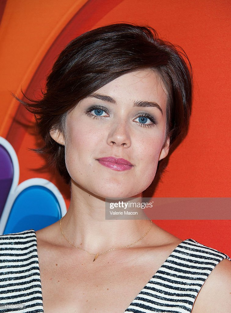 Megane Boone arrives at the NBCUniversal's '2013 Summer TCA Tour' at The Beverly Hilton Hotel on July 27, 2013 in Beverly Hills, California.