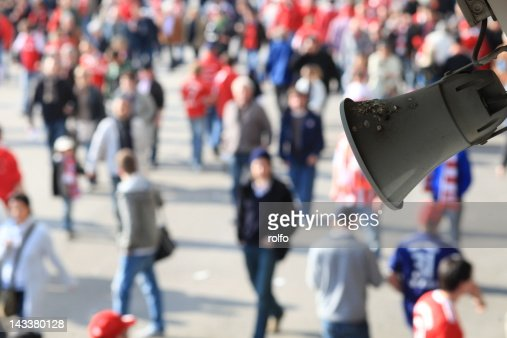 Megaphone : Stock Photo
